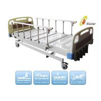 Wholesale ABS Side Rail Medical Hospital Beds Manual Al-Alloy 5 Crank Bed (ALS-M502) from china suppliers