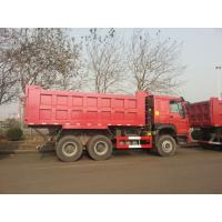 Wholesale Sinoturk Howo 7 Dump Truck With 336hp 10 Tires 6x4 18m3 Capacity Red Color from china suppliers