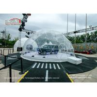China Water - Proof Geodesic Trade Show Tent 6 To 60m Diametre Dome Structure on sale