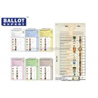 Wholesale Customized Uncoated Voting Ballot Paper SE - SCC0002 For Political Elections from china suppliers