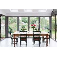 Wholesale Waterproof Commercial Aluminium Doors Sliding Window Heat Insulated Materials from china suppliers