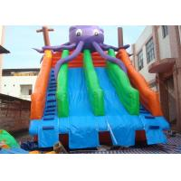 Wholesale Amusing Commercial Inflatable Slide , Inflatable Pool Slide For Water Park from china suppliers