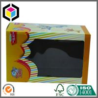 China Plastic Window Cute Toy Corrugated Box; Custom Color Corrugated Packaging Box on sale