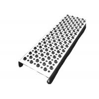 Aluminum Galvanized Steel Grip Strut Grating , Perforated Grating Stair Treads for sale