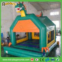 China Green dragon Inflatable castle , bouncy castle air pumps,inflatable castle jumper, used jumping castle inflatable on sale