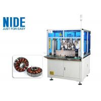 China Automatic Blower Motor Coil Winding Machine BLDC Armature Rotor 120 Rpm Efficiency for sale