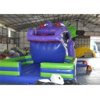 Quality Customized Size Commercial Inflatable Slide, 18ft Inflatable Dinosaur Slide For for sale
