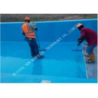 Wholesale Two Component Waterproofing Polyurea Spray Coating , Swimming Pool Polyurea Floor Coating from china suppliers