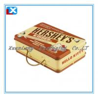 Wholesale Rectangular candy packaging tin box from china suppliers