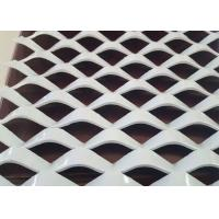 China 2 . 0 mm Metal Powder Coated Expanded Mesh , Decorative Aluminium Expanded Metal Sheets on sale