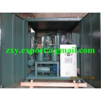 Quality ZYD-100 High Vacuum Degree Continuous Transformer Oil Purifier for sale