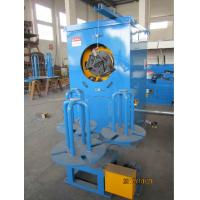 Blue Automated Steel Wire Take Up Machine With Pneumatic Brake Low Noise for sale