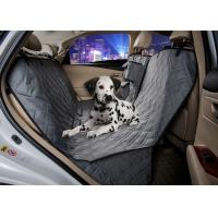 Wholesale Grey Animal Car Seat Covers , Non Slip Rear Car Seat Covers For Dogs from china suppliers