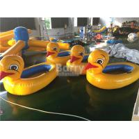 Wholesale Big Yellow Duck Animal Floats Inflatable Water Toys For Pool with Logo Printing from china suppliers