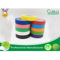 "Quality 1"" x 60 Yards Crepe Paper Colored Masking Tape Set For Walls , Scrapbook for sale"