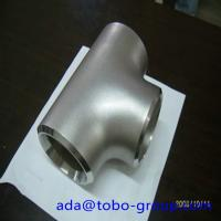 Wholesale Sus304 304L 316 316L Stainless Steel Tee , 1-48 inch steel pipe tee from china suppliers