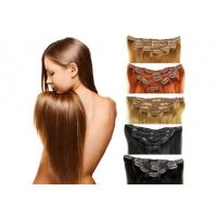Wholesale Full Ends Seamless Easy Clip In Human Hair Extensions For Black Women from china suppliers