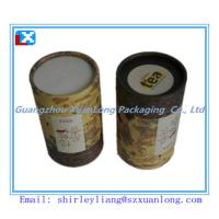 Wholesale Small Round Paper Tea Can from china suppliers