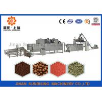 Buy cheap Long Performance Floating Fish Feed Machine Energy Saving Good Taste from wholesalers