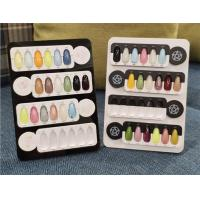 Wholesale OEM Boutique Gel Nail Polish Color Display Board Holder For Crylic Album from china suppliers