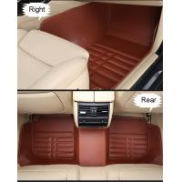 Wholesale Cadillac, Benz, Lexus cars 5D PU leather waterproof non-card car floor mats from china suppliers