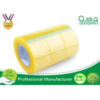 Wholesale Pressure Sensitive BOPP Packing Tape Strong Adhesive Single Sided Clear Shipping Tape from china suppliers