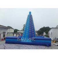 Wholesale Children Play Inflatable Sports Games Blue Giant Inflatable Climbing Games from china suppliers