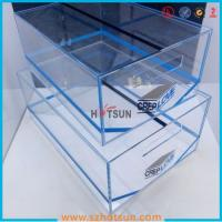 Quality high quality plexiglass shoe box for package,wholesale custom clear acrylic shoe box hupbox sneaker display box for sale