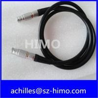 China 7 pin cable assembly with lemo push pull connector for sale