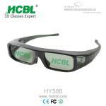 Button Battery Active Shutter 3D Glasses / Eyeglasses For DLP Projector / Xpand Cinema / 3D TV