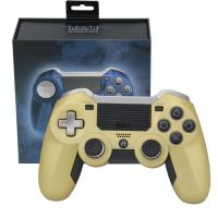 Wholesale Elite Ps4 Wireless Joystick Non - Slip Surface Gold Color USB Cable Game Accessories from china suppliers