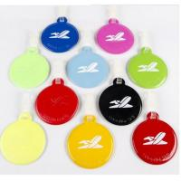 Wholesale PU Leather Material Personalized Travel Luggage Tags For Kids from china suppliers