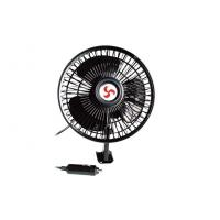 Wholesale 6 Inches Oscillating Car Fan DC 12V , Metal + Plastic from china suppliers
