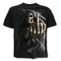 China new designer hot sell the fashionable printing logo skull tee shirts wholesale on sale