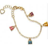 Wholesale Beautiful Lucky Chain Floating Charm Sterling Silver Bracelet for Lady from china suppliers