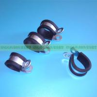 Wholesale rubber cushion clamp rubber hose clamp rubber pipe clamp ,wire clamps,hose clips,heavy duty clamp,P clamp,R type clamp, from china suppliers