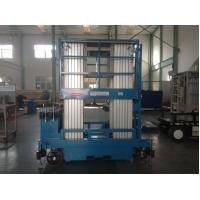 Wholesale Four Mast Mobile Elevated Platform , 400kg Capacity Aerial Work Platform For Two Men from china suppliers