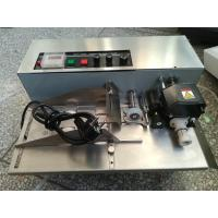 China Solid-Ink Coder machine MY380 with stainless steel  with hot ink roller to print the date number or expiry number on sale