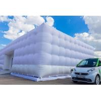 Wholesale Portable Marquee Inflatable Tent For Car Garage / White Inflatable Cube Tent from china suppliers