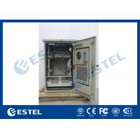 Waterproof Sandwich Structure Outdoor Wall Mounted Cabinet With Telecom Power System And Battery
