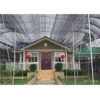China Environmental Friendly Prefab Steel House For Emergency Projects Easy To Built for sale