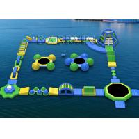 Wholesale Waterproof Tarpaulin Inflatable Floating Water Park Equipment For Rental / Festival Activity from china suppliers