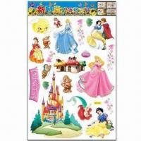Wholesale Cartoon Wall Decals, Non-toxic, Low-cadmium Standard, Various Styles are Available from china suppliers