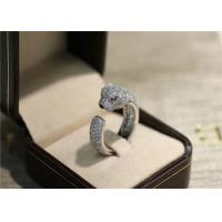 Wholesale N4225200 VS Diamond Panthere Cartier Ring With Emeralds Onyx from china suppliers