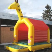 Wholesale Commercial Jump Bouncy Castle Giraffe A Frame EN14960 0.55MM PVC from china suppliers