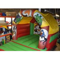 Wholesale Angry Birds Commercial Small Blow Up Bounce Houses For Baby / Children from china suppliers