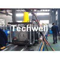 Wholesale Steel Sheet Upright Rack Roll Forming Machine for Storage Shelf Profile from china suppliers