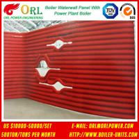 CFB 110 MW Boiler Water Wall Panels For High Temperature Solid Fuel Boiler