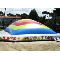 Wholesale Safety Outdoor Inflatable Garden Toys / Inflatable Air Bag With EN14960 from china suppliers