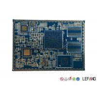 Wholesale Custom PCB Board Circuit Board for Security Power Supply , Blue from china suppliers